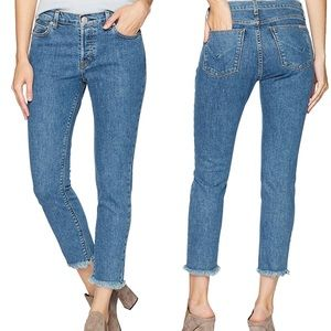 Hudson Jeans Luxe Crop Riley